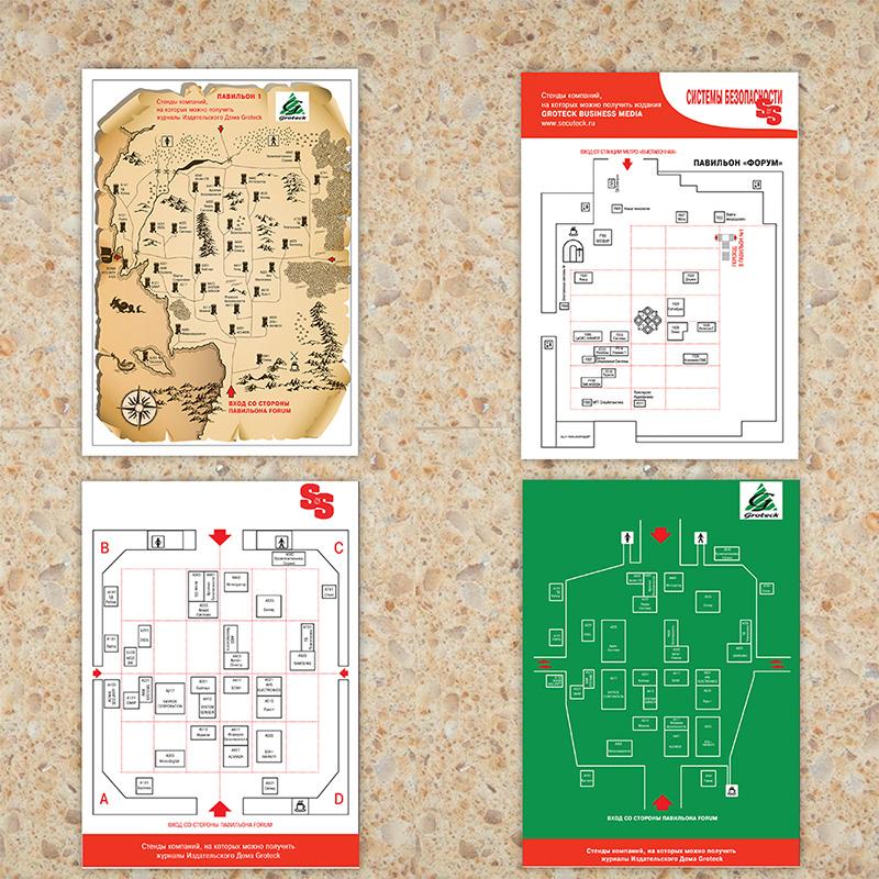 Схема к выставке ИД Гротек