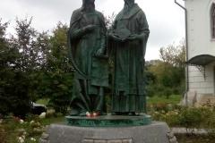 Кирилл и Мефодий у собора