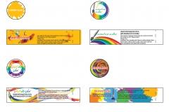 Логотип и этикетки красителей