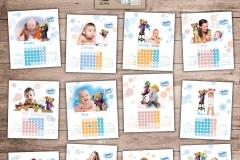 Перекидной календарь Симилак (Abbott)